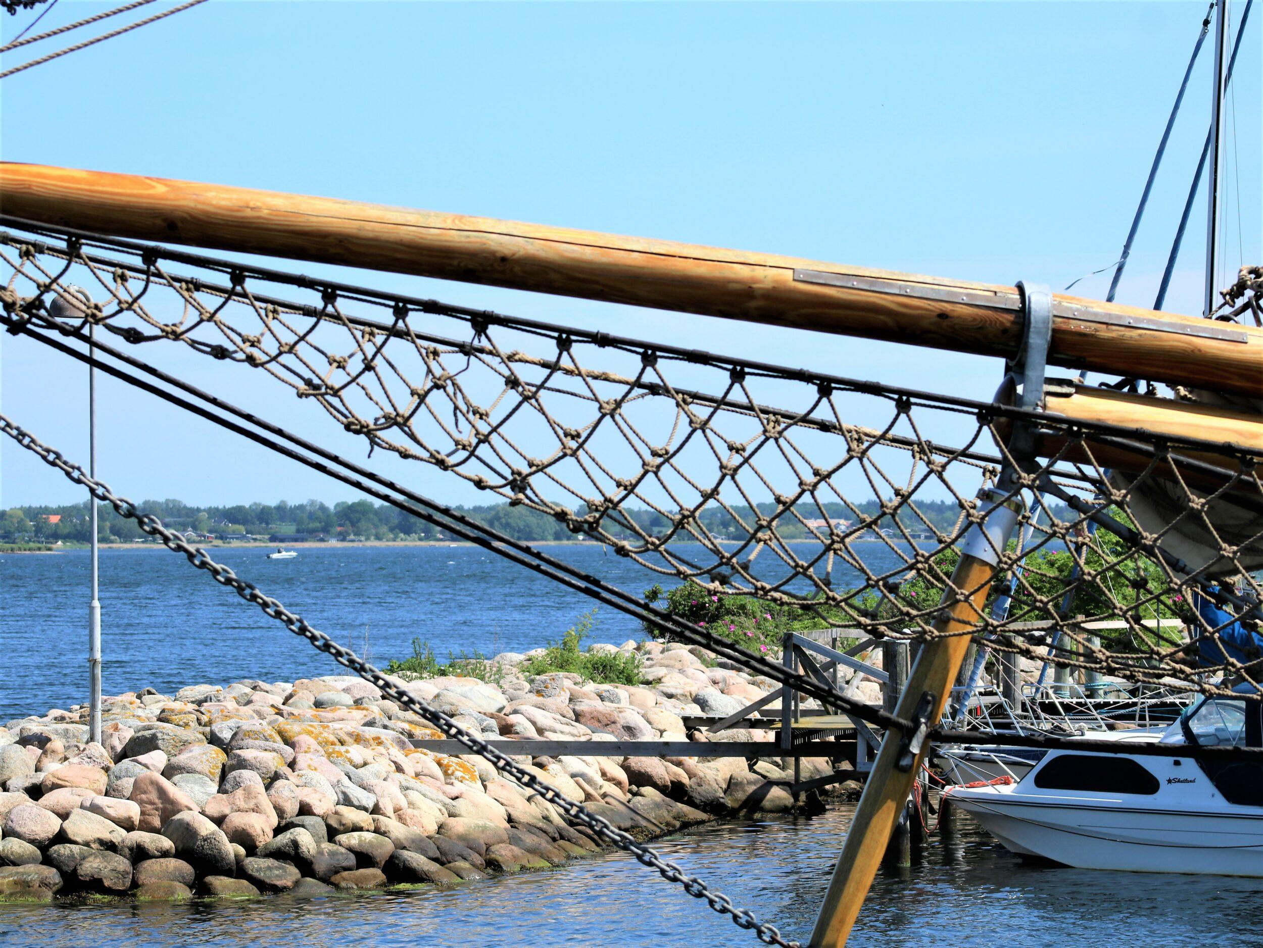 Slib værktøj på Holbæk Havn i sommerferien