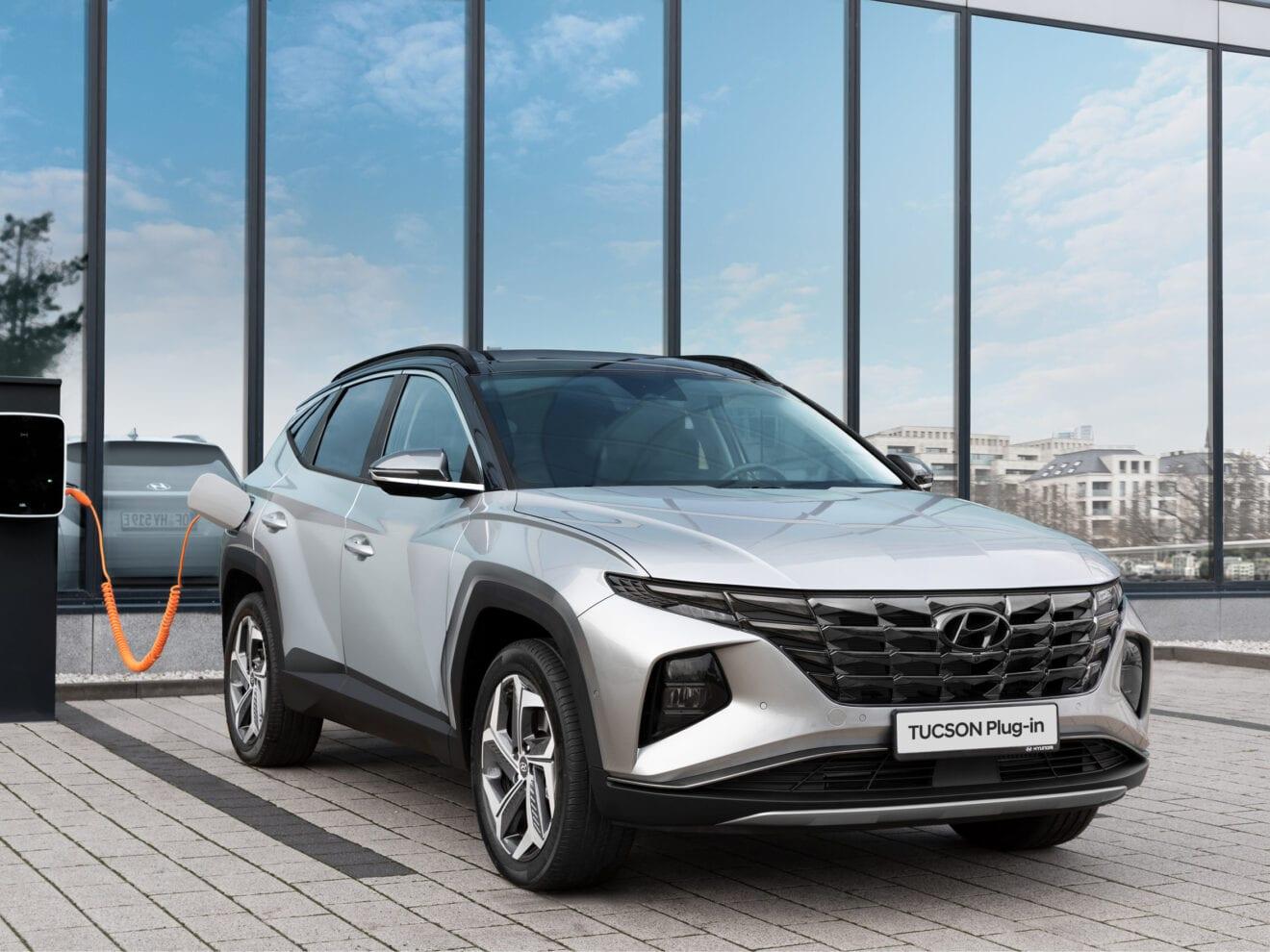 TUCSON Plug-in Hybrid er landet hos Hyundai Holbæk